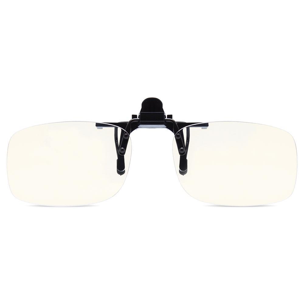 EYEGUARD Clip su Lens Filter Anti Block Blue Light copertina Occhiali Occhi proteggere dalla fatica Unisex