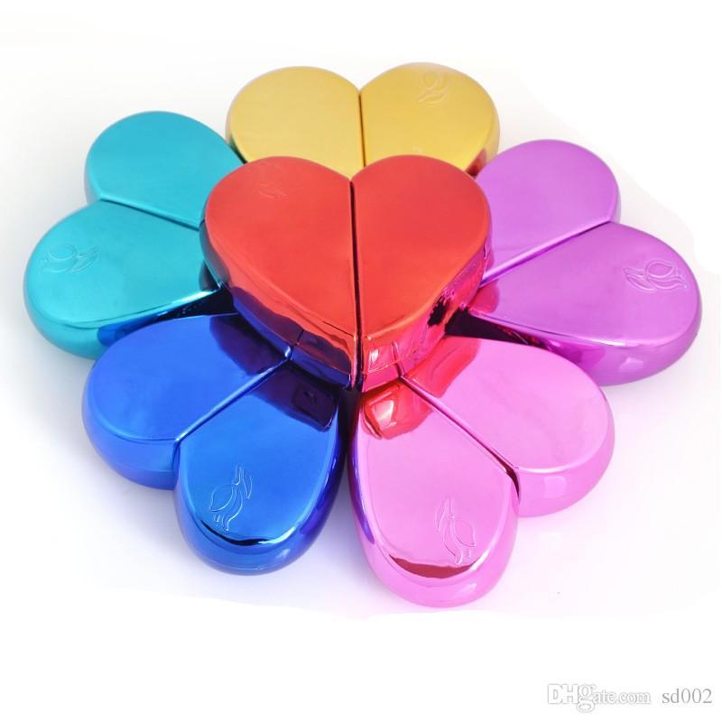 أعلى الصين منتجات مستحضرات التجميل رذاذ زجاجة معدنية الحب القلب على شكل زجاجات العطور حار بيع 3 6yj ww