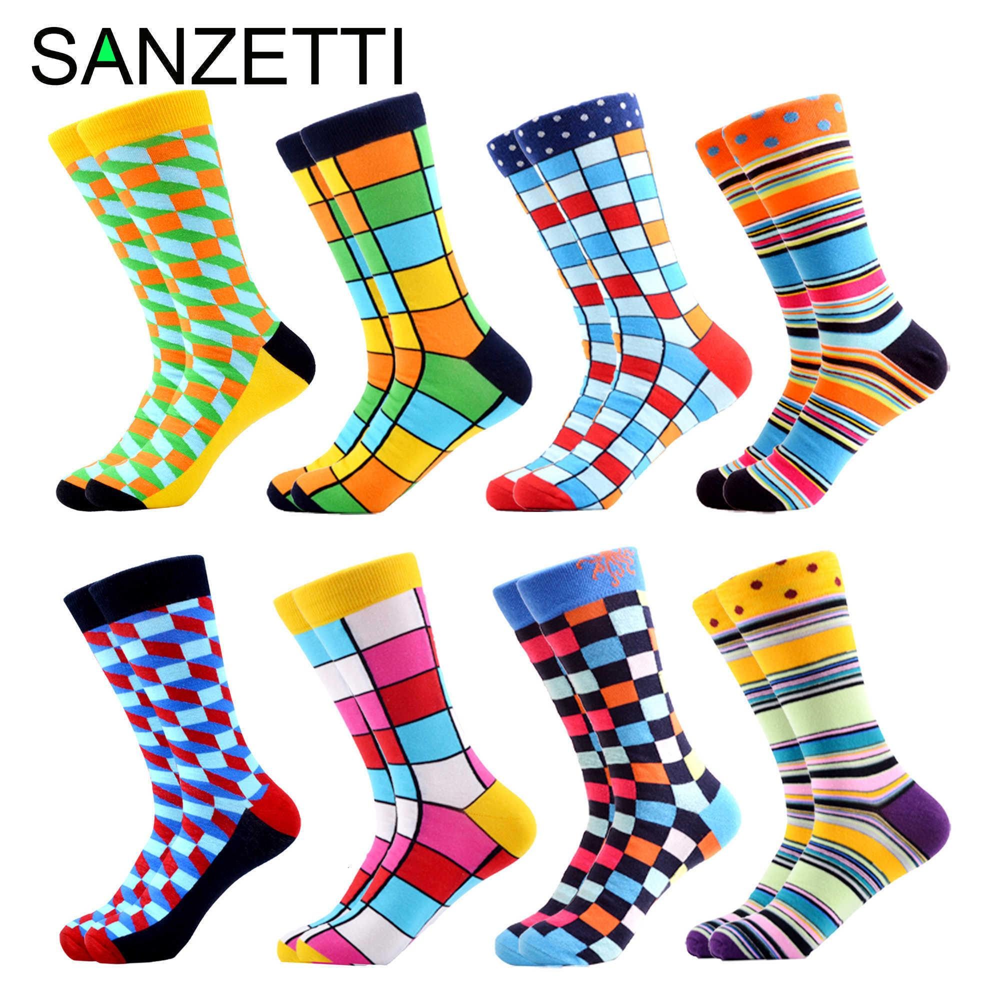 Funny Cat Pattern Casual Socks Crew Socks Crazy Socks Soft Breathable For Sports Athletic Running