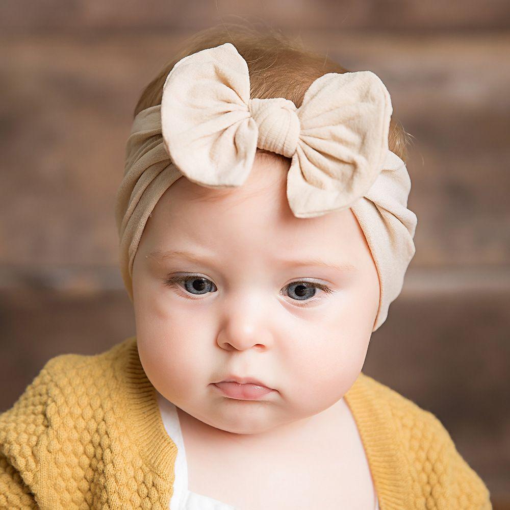 Gwxevce Neugeborenes Baby Kind M/ädchen Elastische Stirnband Haarband Haarschmuck