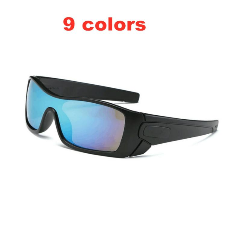O marca clásico de los hombres gafas de sol deportes al aire libre conducción conductor pesca viajes de gran tamaño gafas de sol UV400 gafas 9101