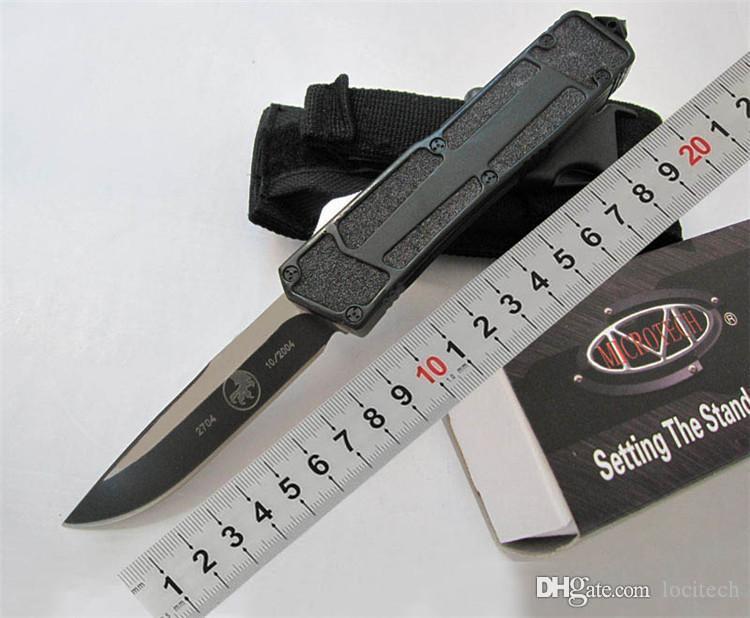 특별 메뉴! 마이크로텍 전술 자동 10 스타일 마이크로 MT 기술 풍뎅이 440C 블레이드 포켓 야외 생존 헤일로 V UTX70 UT 칼을 칼