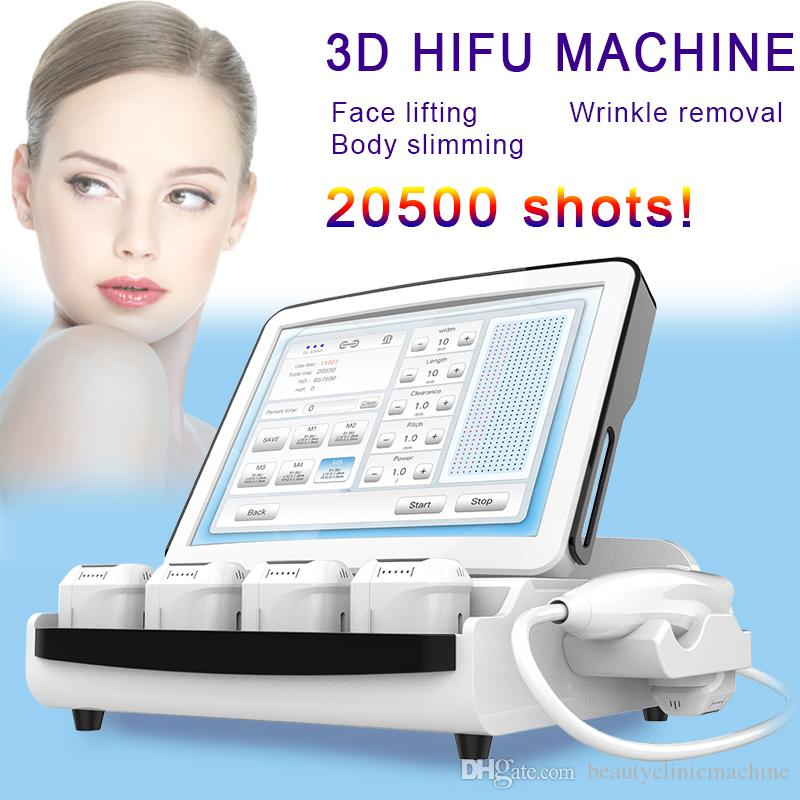 hifu machine face lift ultrasound machine skin tghtening smas layer beauty machine high intensity hifu 20500 shots