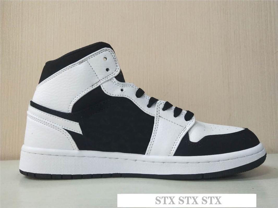 zapatos del diseñador caliente 1 OG zapatos de baloncesto para hombre de Chicago 1S 6 MID nuevo amor UNC zapatos de deporte zapatillas de deporte de las mujeres anillo del dedo del pie Bred capacitadores C12