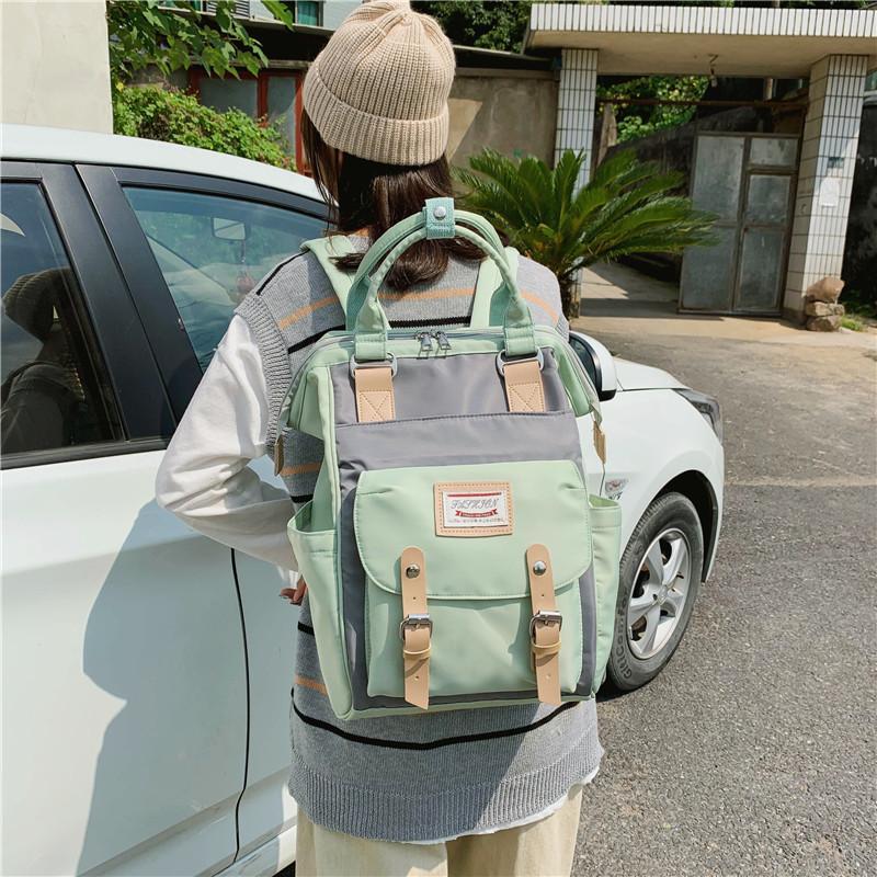 Mãe Bolsas Multifuncional Capacidade Backpack alta qualidade Canvas Viagem Backpack Mulheres Back Pack Moda Adolescente Mochila