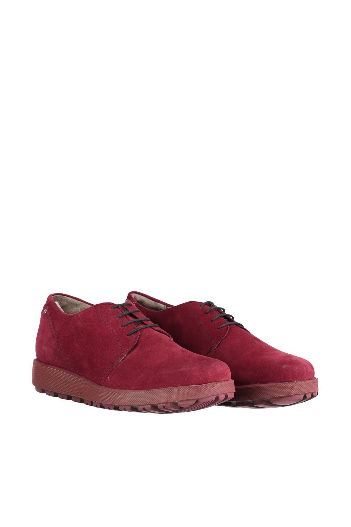 İnci Gerçek Deri Burgonya Erkek 'S Ayakkabı 120117498380