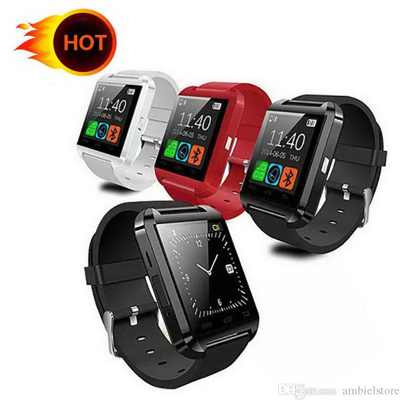 SmartWatch U8 Bluetooth U8 Smart Watch For IOS IPhone IPhone 4 5S 6 Samsung S4 Note 3 HTC Android Windows Ios Phone Smart