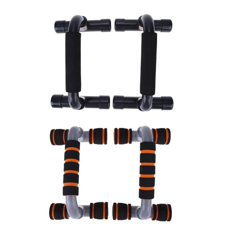 1 paire H-forme Push-Up Frame Rack bras Muscle formateur cadre Home Fitness Training Equipment Pushup Bar exercice