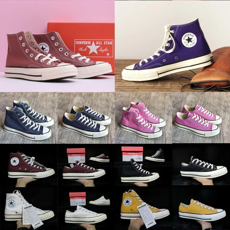 Tasarımcı ayna 70'ler 2 klasik yıldız marka erkek kadın kanvas ayakkabılarsöyleşmekkadın paten moda sarı mavi pembe gündelik shoesd9P6 #