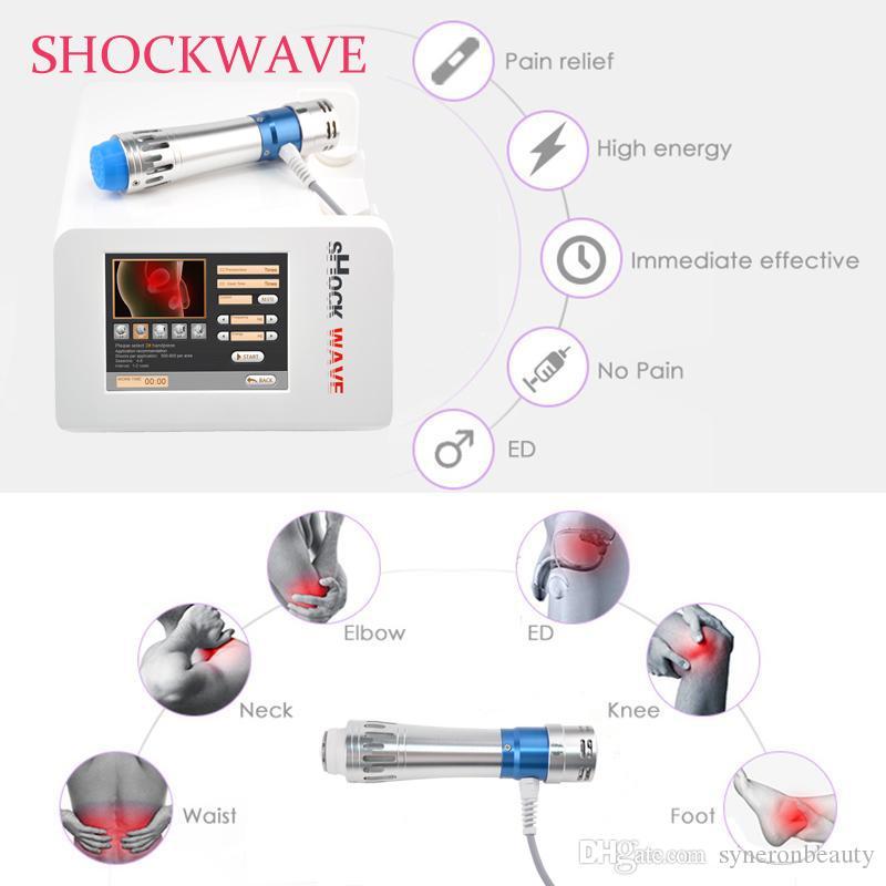 ED tedavisi / Taşınabilir şok için yüksek kalitede, şok dalgası tedavi makinesi ev kullanımı için Ed makinesi dalga