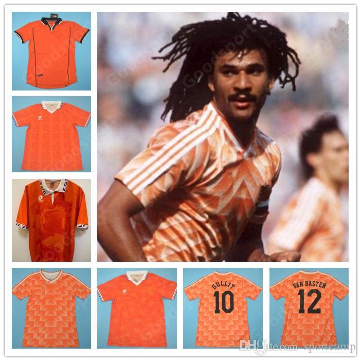 1988 89 91 95 96 لكرة القدم جيرسي ريترو هولندا ماركو فان باستن خوليت 97 98 كرة القدم قميص سيدورف بيركامب هولندا كلويفرت روبن 2012