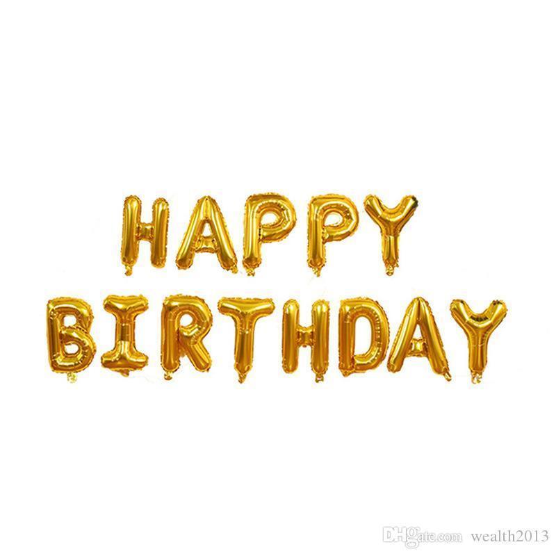Çok sıcak satış 3 katmanlı Kek alüminyum folyo balon seti Çocuk doğum günü partisi dekorasyon yüzen balon FP011
