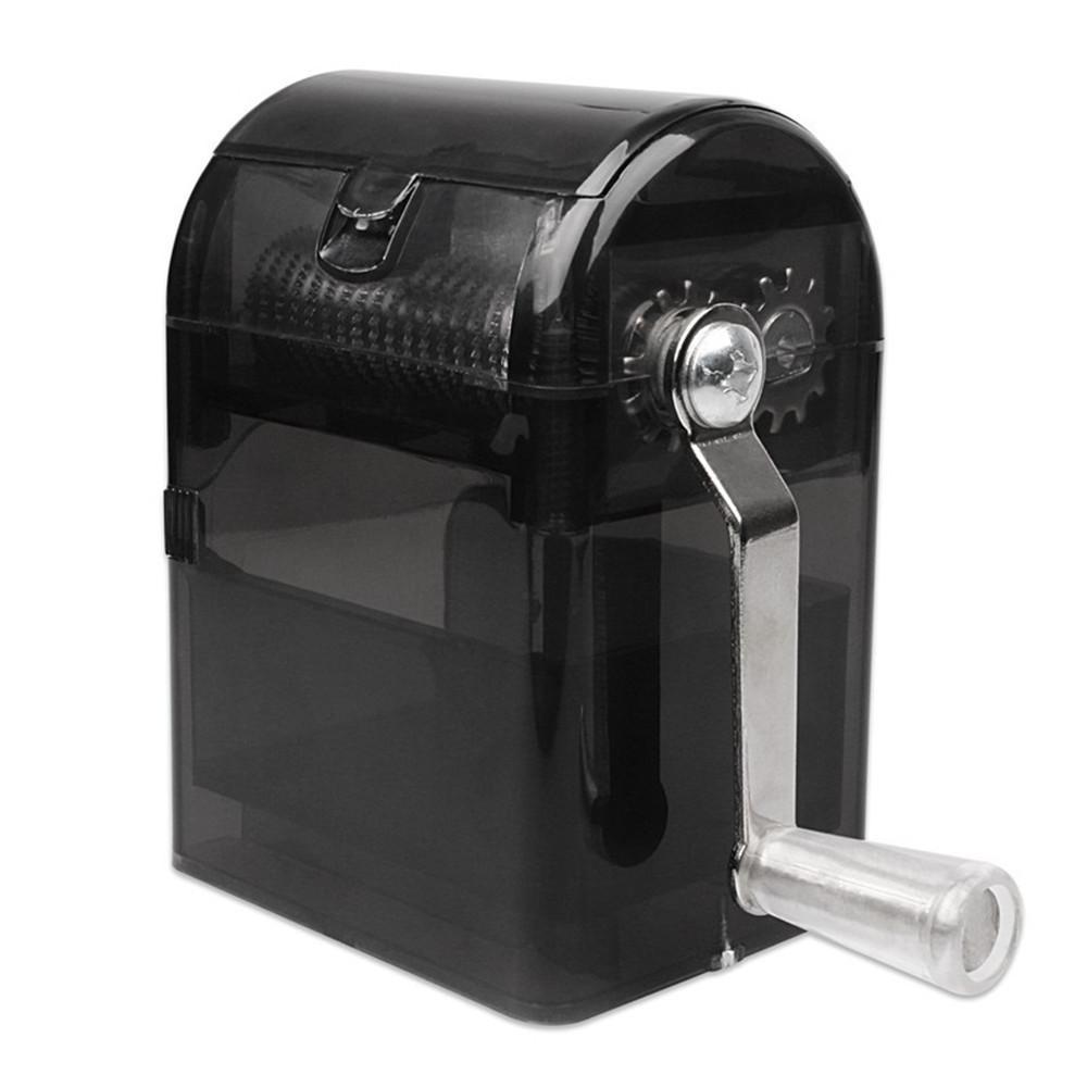Mills Broyeur à manivelle tabac Cutter Grinder main Muller Shredder Smoking Case Hachoir u71101 T200323