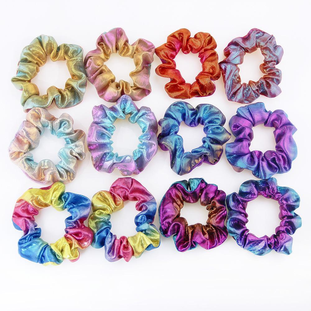 Regenbogen Blumen Blüten Haarband Kinder Mädchen Stirnband Haarschmuck Haargummi
