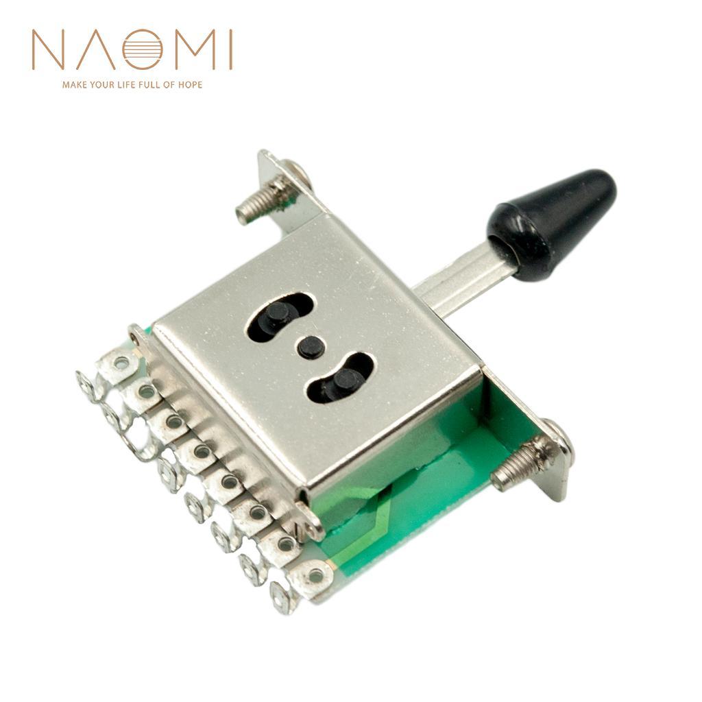 NAOMI 3 الطريق لاقط محدد مفاتيح للكهرباء غيتار عالية الجودة أجزاء الغيتار اكسسوارات جديد