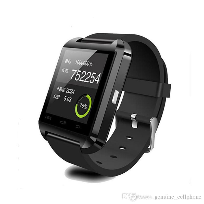Original U8 Smart Watch Bluetooth elektronische Smart-Armbanduhr für Apple IOS-Uhr Android Smart-Phone Watch PK GT08 DZ09 A1 M26 T8