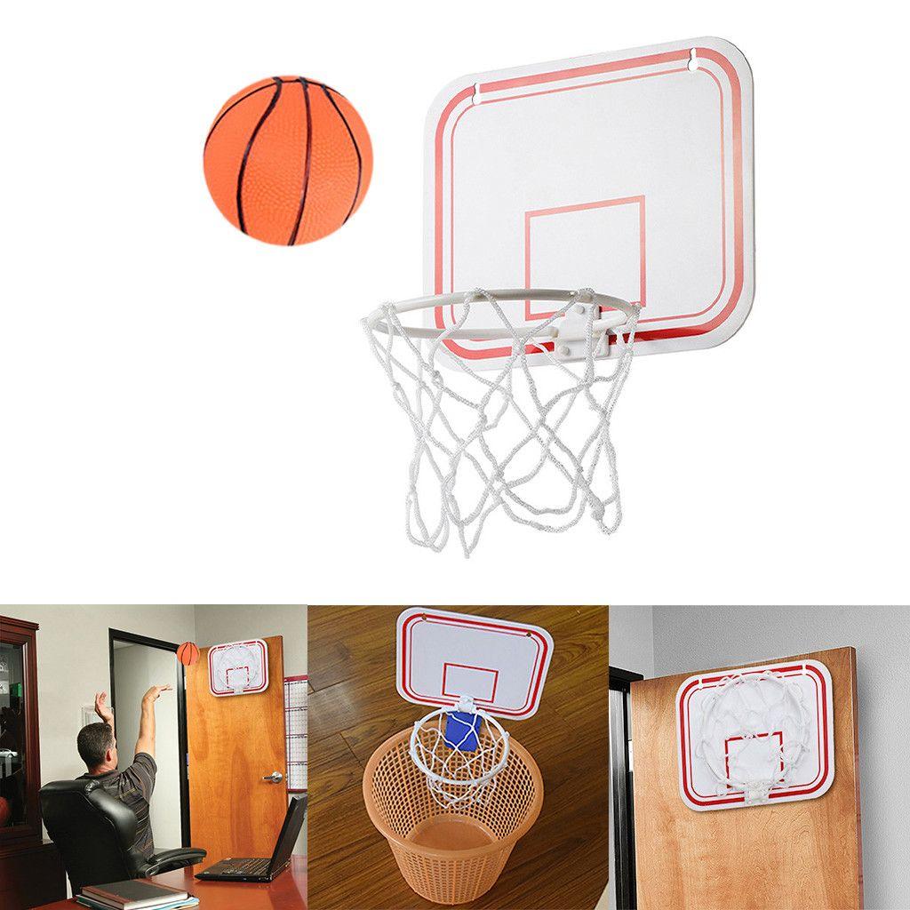 Pliant Intérieur Suspension Portable Punch GRATUIT MINI Basketball en plastique cadre de basket-ball jeu Mini Basketball Net jeu Hoop Anneau