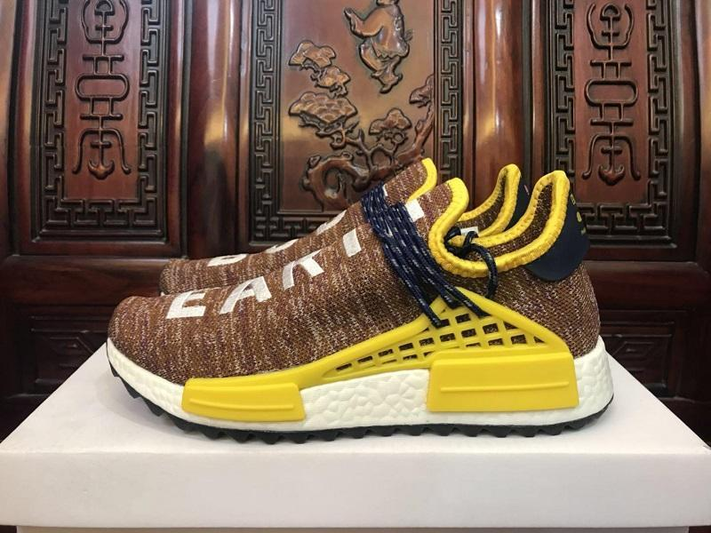 more photos da419 5a61b New Human Race Trail Body Earth BBC Shoes Men Women Pharrell Williams HU  Runner Yellow Nerd Core Black White Casual Sports Sneaker Platform Shoes ...