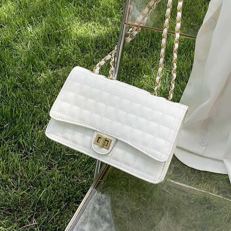 French Fashion Design semplice diamante di Piazza sacchetto di spalla elegante della borsa di Crossbody Larghezza 25 centimetri Altezza 15 centimetri di spessore 6 centimetri