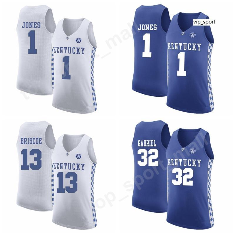 La universidad de Kentucky Wildcats Baloncesto jerseys de encargo Shai Gilgeous-Alexander Isaías Isaías Briscoe Briscoe Sacha Killeya-Jones