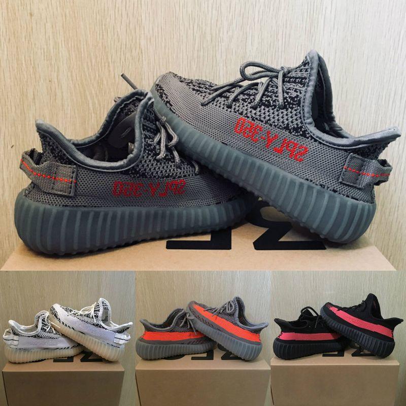 Baby Kids Shoes Kanye West V2 Running