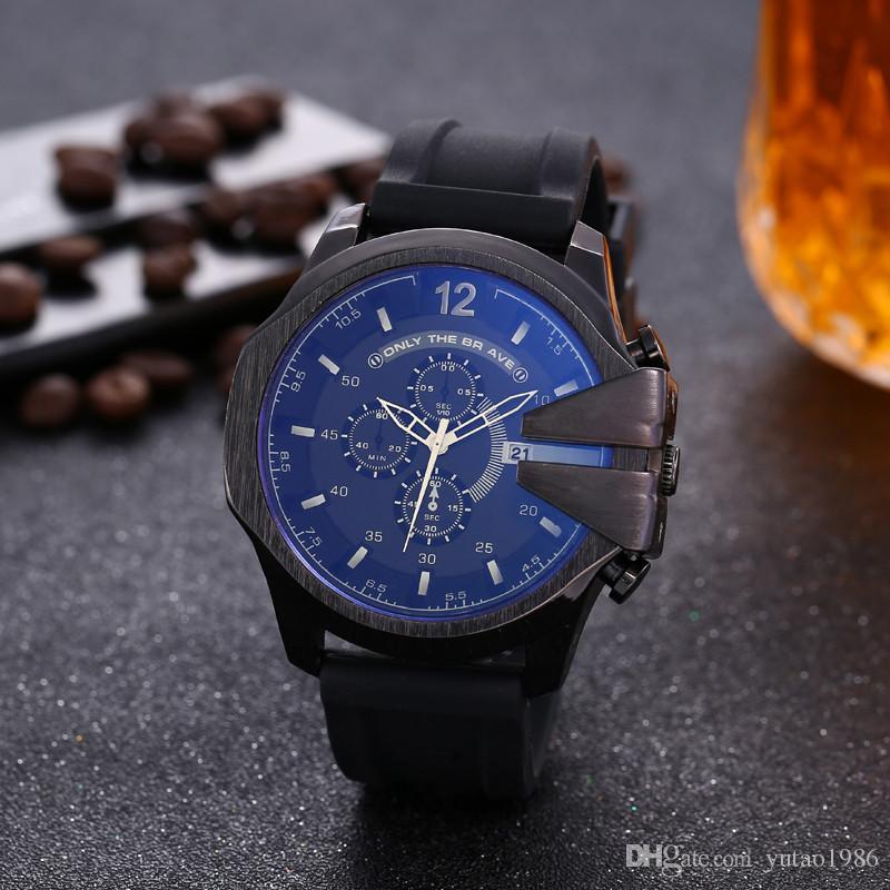 Orologi 2020 vigilanza degli uomini amanti DZ Sport orologi di marca braccialetto per Stile Catena Lady Fashion Dress oro Charming monili degli uomini del quarzo della vigilanza