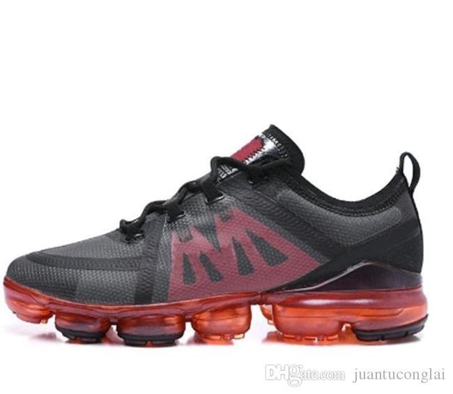 2019 кроссовки для мужчин Плюс утроить белые черные Средние бордовой Давку дизайнер мужских кроссовок инструкторов обуви