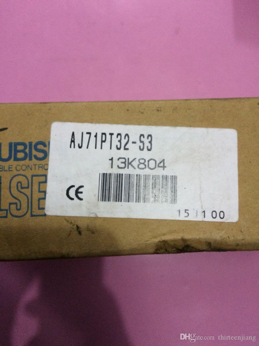 1 PCS MITSUBISHI PLC AJ71PT32-S3 LIVRE EXPEDIDO FRETE GRÁTIS AJ71PT32S3 NOVO EM CAIXA