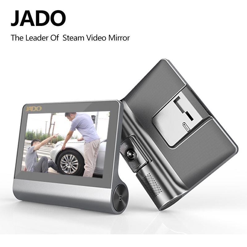 JADO D780 4.3 Caméra Car Full HD 1080P voiture Dvr Video Recorder 140 degrés Registraire DVR Camcorder cam Dash ADAS