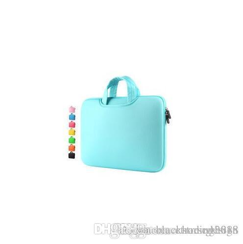 Neue Protable Art und Weise weicher Hülsen-Laptop-Beutel-Kasten Handlebag Beutel für Macbook Pro Air Retina 11 12 13.5 15 Zoll Ultrabook Laptop Notebook