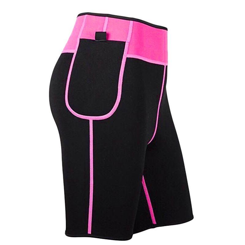 Women's Seamless Yoga Shorts Push Up Hip Gym Shorts Fitness Sports Leggings Body Shaper Thermal Slimming Slimming Fitness