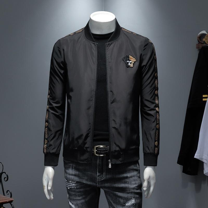 Vêtements pour hommes 2019 Automne Veste Pour Hommes Belle broderie Mark Man Manteau Lâche Col Baseball