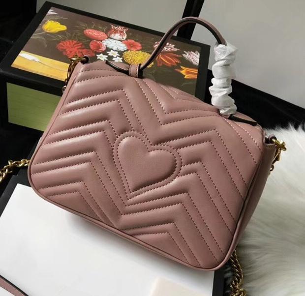Love Fashion Sales Pattern Женская сумка Горячая волна ручкой сердца Высокая цепочка качества Женский Bload Bag Сумка Crossbody Messenger B JMCU