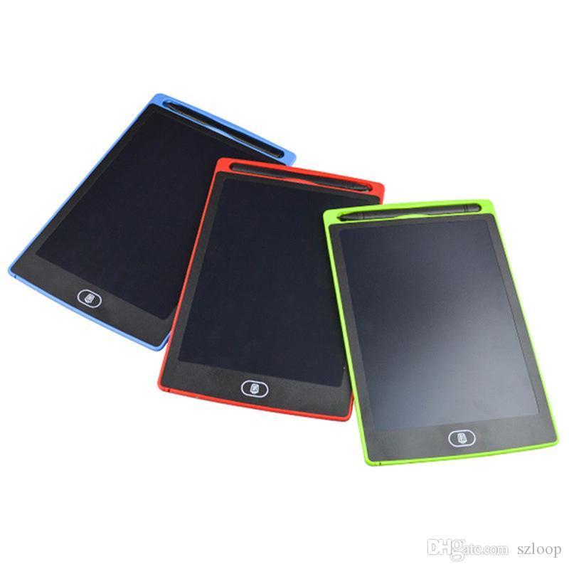 """8.5"""" Pantalla LCD Digital Diseño de la escritura de la tableta de escritura a mano del cojín Junta de gráficos sin papel Bloc de notas apoyo claro Función 2107445"""