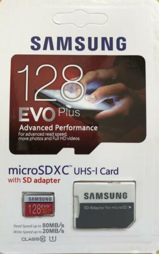 Tarjeta de memoria Samsung EVO, con más de 128 GB Evo Pluse Micro SDXC Clase Grado 1 10 Con Adaptar
