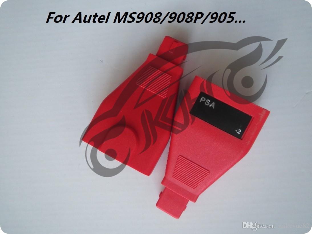 for Autel PSA -2 Pins MaxiSys Pro MS906 MS906BT MS906TS MS908S Pro Mini MaxiCOM MK908P OBD I Adapters DLC Connector