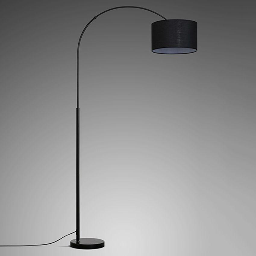 2020 Modern Cloth Shade Loft Led Floor Lamps Standing Lights
