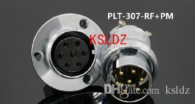 Freie Verschiffenlos (1 Stücke / Los) original New PLT APEX PLT-307-RF + PM PLT-307-RF-R PLT-307-PM-R 7pins Aviation Steckverbindung