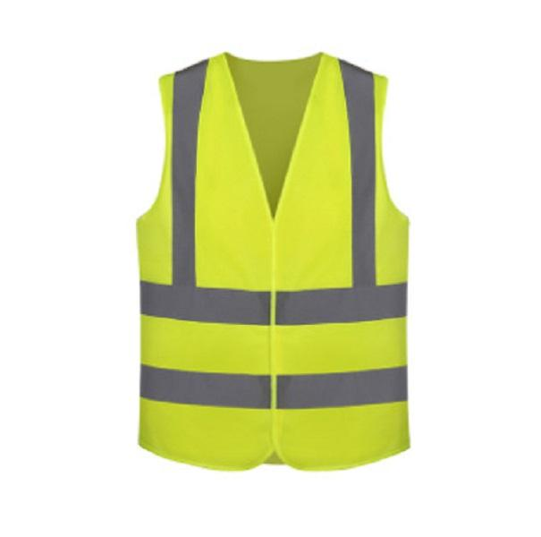 REFLECTIVE YELLOW SAFETY VEST FOR WOMEN AND MEN