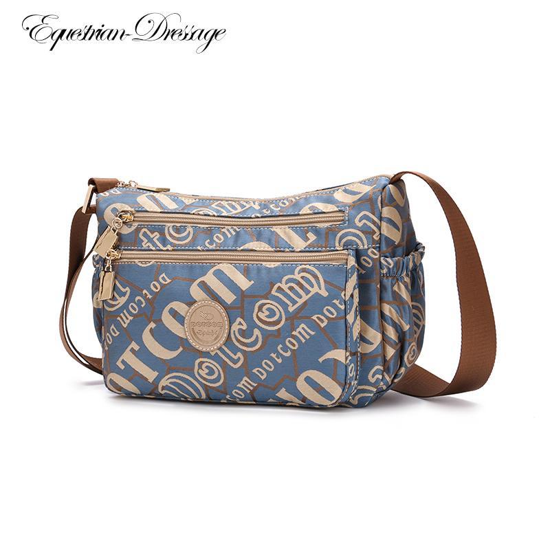La nueva llegada de la venta caliente superior de la manera de la mujer real bolsos bolsos del mensajero del bolso de escuela bolsa de viaje de Crossbody