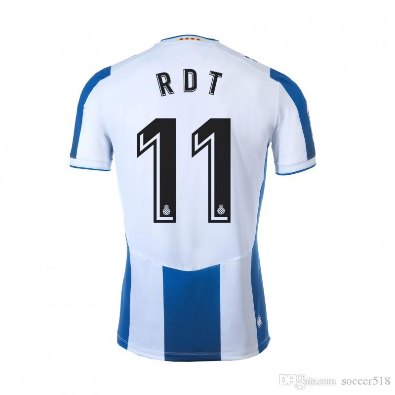 Calleri RAUL DE TOMAS 2019 2020 RCD Ferreyra MARC ROCA Espanyol futbol formaları WU LEI formalarını Campuzano VARGAS DIEGO LOPEZ PIPA