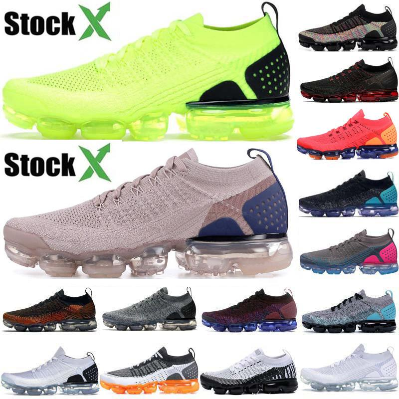 2020 Vapores 2,0 Almofada Knit Womens Homens Volt Running Shoes Designer Difuso Taupe Red Orbit sapatilhas esportivas Mens Trainers Maxes Tamanho 36-45