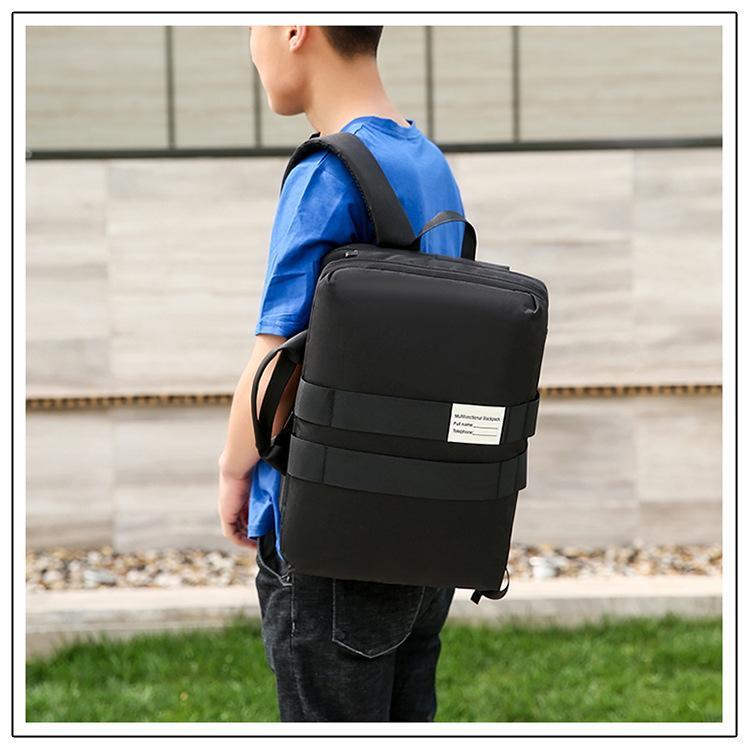 2019 novo design multi-funcional bolsa de ombro ombro computador mochila pendurada mochila portátil de 15,6 polegadas saco do computador de negócios de viagem saco de estudante