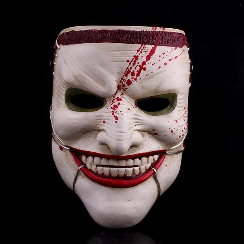 Mort famille Thème Horreur Masque Effrayant, effrayant Mascara haute qualité Masques en résine Hollween, Costumes Cosplay Party mascarade masque