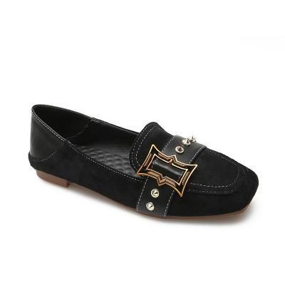 Zapatos de cuero Jolly2019 Su Chen Yao Beige Fuxie La mujer Koufu Le Mingyu todos muy buenos real ir a trabajar
