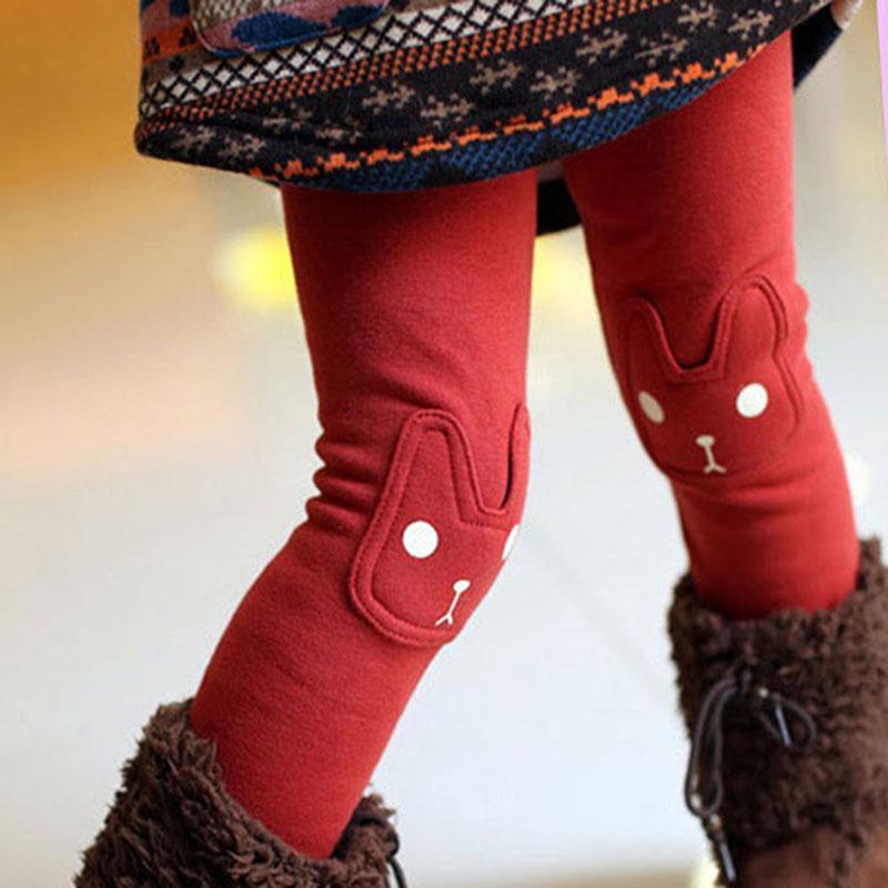 Ragazze di inverno ghette dei bambini Pantaloni di cotone autunno bambini del bambino del bambino spessore vello pantaloni caldi per le ragazze pantaloni per bambini pantaloni