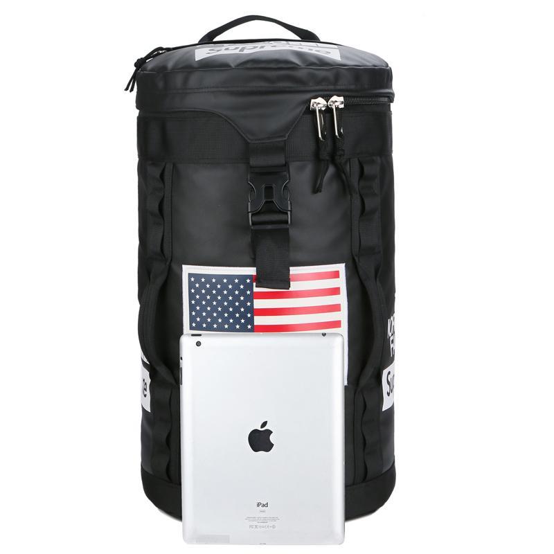 Schwarz Teenager-Rucksack Junge Mädchenschule College-Taschen beiläufig Rucksäcke Adult Students' Outdoor Oxford Reisetaschen