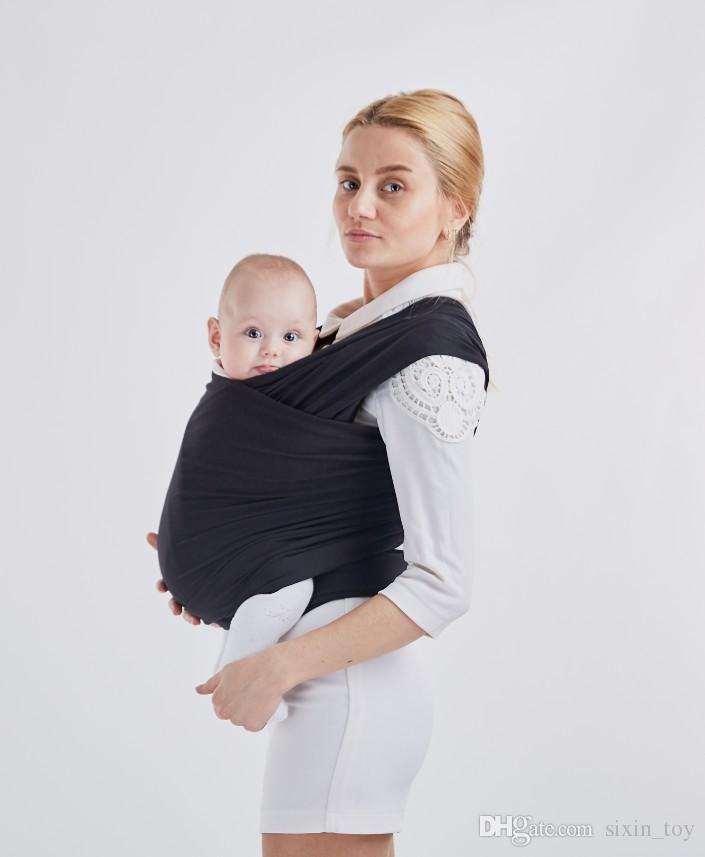 Ergonomic Newborn Baby Sling Stretchy Wrap Carrier Infant Breastfeeding Backpack