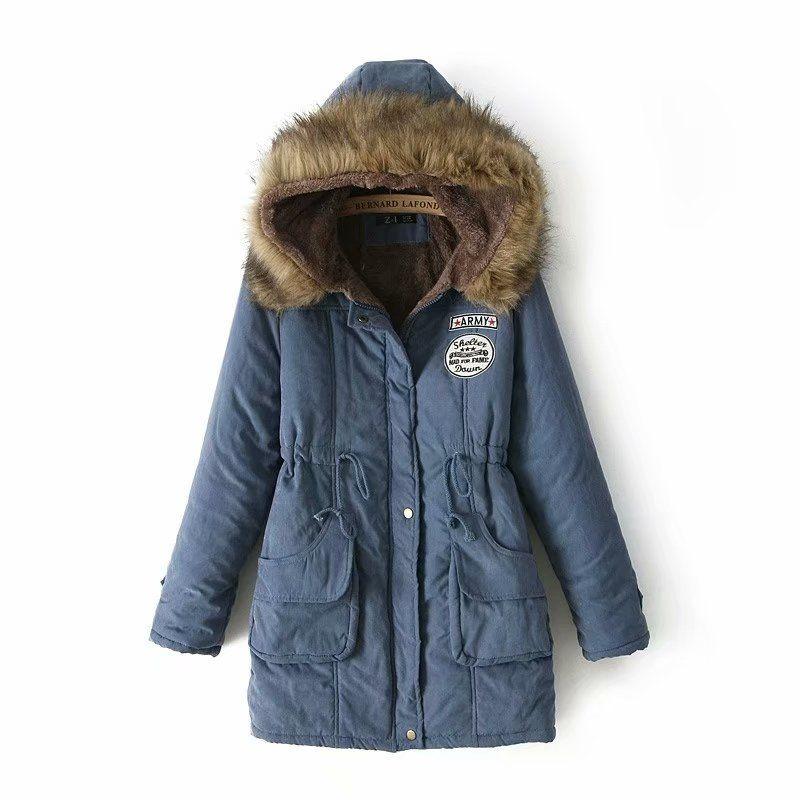 2019 Spring New Parkas Female Women Winter Coat Thickening Cotton Winter Jacket Womens Outwear Parkas for Women Winter