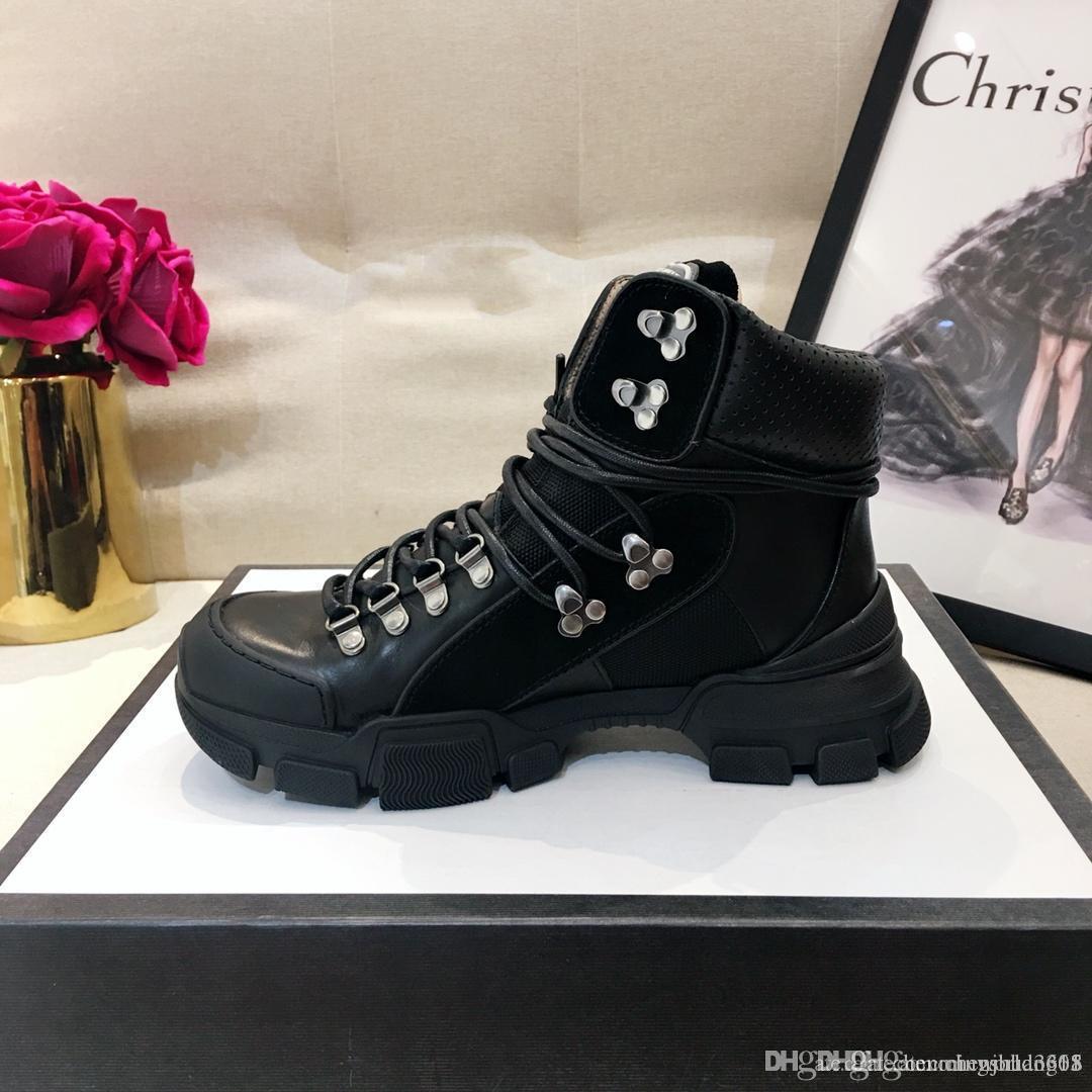 Blanc Femmes Chaussures en cuir pour hommes et femmes Souliers Rouge Noir Or mode Chaussures plates confortables Taille 35-46 0315